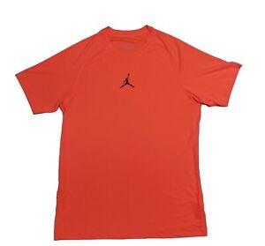 Nike Jordan Dri-Fit Training Gym Shirt Red Large
