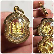 High Quality Phra Pikanet Ganesh Deva Elephant Hindu God Amulet Luck Love Charm