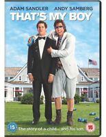 That's My Boy DVD (2013) Adam Sandler, Anders (DIR) cert 15 ***NEW***