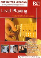 RGT GUITAR LESSONS Lead Playing Book & CD