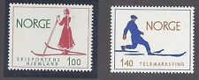 NORWAY SC # 647-8  VF MNH SKIING