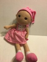 "Goffa Pink Doll   18"" Plush Stuffed Animal"