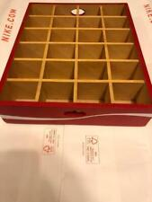"Coca COKE Cola wooden box for mini bottle display 13.5 x 11"""