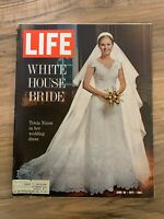 LIFE MAGAZINE June 18th 1971 Tricia Nixon in her Wedding Dress // Great Ads