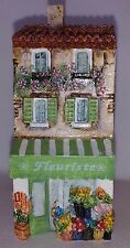 J Carlton By Gault Hand Painted French Miniature Fleuriste Building