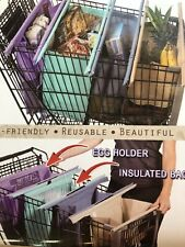 Lotus Trolley Bag Reusable Shopping Bag System Insulated - NEW