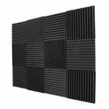 SODIAL 146085 Acoustic Soundproofing Panels (12-Pack)