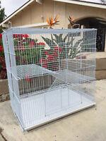 Small Animal Sugar Glider Guinea Pig Ferret Rat Mice Syrian Hamster Cage - 236