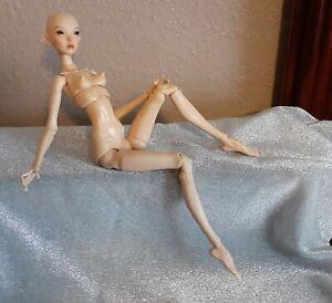 Popovy Sisters Fake Little Owl Tan Skin Tone Dark Eyes Recast Nude 1/4 Scale BJD