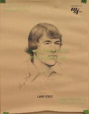 """Larry Steele Meier & Frank Marion Rockafellow Trail Blazers NBA 17"""" x 22"""" Poster"""