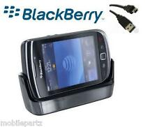 Original Blackberry Torch 9800 9810 Cargador De Escritorio Pod Sync cuna + Cable Usb