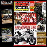 MOTO JOURNAL N°1874 GIABBANI TRIUMPH 1600 THUNDERBIRD YAMAHA R1 MOTO TOUR 2009