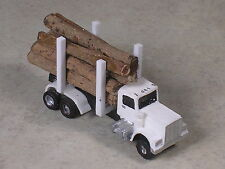 N Scale Kenworth Logging Truck with real logs, version #8