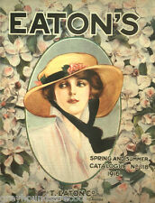 Eaton's Department Store Catalogues on Disc Gift T Eaton Co Fashion Wallpaper