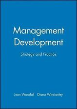 Management Development: Strategy and Practice (Human Resource Manageme-ExLibrary