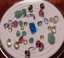 Natural loose cut gemstones