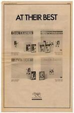 Eric Clapton Jack Bruce Ginger Baker LP advert 1973 RS-GHJK