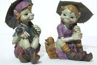 pixie,kobold,wicht,schnecke,wichtel,eichhörnchen,11,5-13cm,garten, balkon,feen