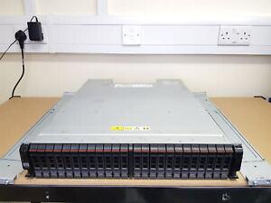 IBM STORWIZE V7000 10TB 2U JBOD Expansion Enclosure 24x 450GB 10K SAS 2076-224