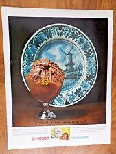 1962 Borden's Dutch Chocolate Ice Cream Ad