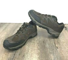 Hi-Tec Men's Hiking Trail Shoe Altitude Trek Low I  WP Brown Lace Up Size 12 W