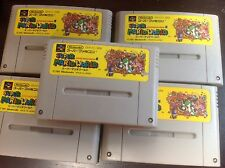Super Mario World Japanese Good Shape SFC Super Famicom Nintendo USA SELLER