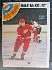 1978-79 O-Pee-Chee #132 Dale McCourt ROOKIE CARD Detroit Red Wings
