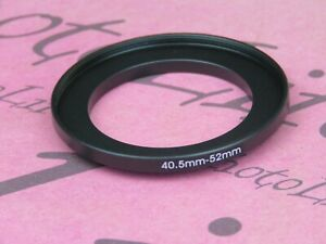 40.5mm to 52mm Stepping Step Up Filter Ring Adapter 40,5mm-52mm