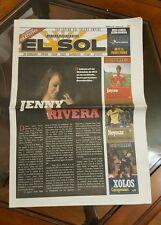 JENNY RIVERA El Sol Periodico 2012 Voz Latina del Inland Empire California