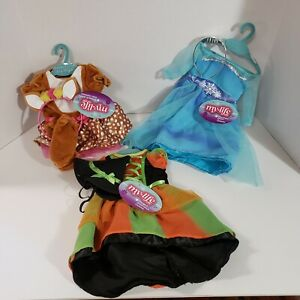 """3 My Life As Halloween Costume For 18"""" Doll Witch Deer Snow Queen Costumes 2021"""