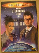 DOCTOR WHO STORYBOOK 2008 HARDBACK BOOK – 8 ILLUSTRATED ADVENTURES ~PANINI BOOKS