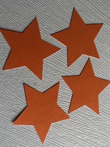 15 star card shapes choose your colour and size