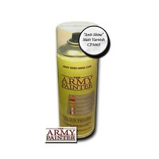 The Army Painter BNIB Base Primer - Anti-Shine, Matt Varnish APMV001