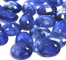 NATURAL OVAL-CUT LOVELY BLUE SAPPHIRE LOOSE GEMSTONE (2 pcs) (3.9 x 2.9 mm)