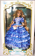 Alice In Wonderland Doll LE Disney Store Limited Edition Alice # 260 / 500