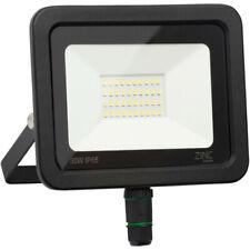 NEW Zinc Slimline LED Floodlight IP65 30W 2400lm UK SELLER, FREEPOST