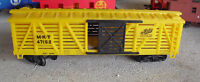Vintage 1980s HO Scale The Katy MKT 47152 Yellow Stock Car