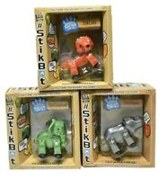 Stikbot Action Figures Safari Pet Lot of 3