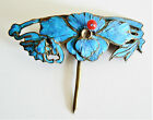 Qing Dynasty Kingfisher feather Hair Pin Chinese Coral Antique Tian tsui