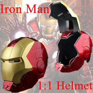 Marvel Legends Avengers Iron Man Electronic Helmet Replica 1:1 Tony Stark Mask