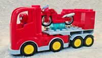 Lego Duplo Spiderman Truck / Lorry And Spider Bike Bundle - Free UK Delivery