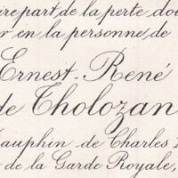 Ernest René De Tholozan De Cesanne Guermantes 1890