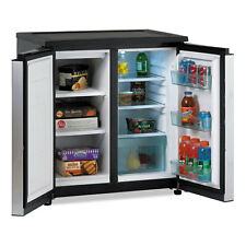 Avanti 5.5 Cf Side by Side Refrigerator/Freezer Black/Stainless Steel Rms550Ps