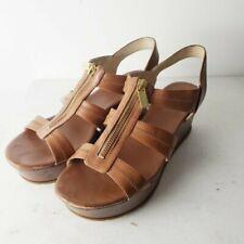 Michael Kors Brown Platform Sandals Size 9.5