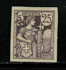 Switzerland Helvetia 25c Proof MH