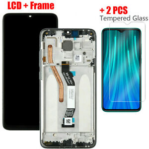 For Xiaomi Redmi Note 8 Pro Screen Replacement LCD Display Touch Digitizer Frame