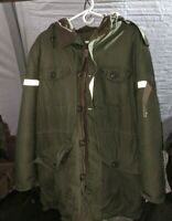 LARGE 1971 Canadian Army surplus Cold Weather Parka, Northwest Sportswear 74/44