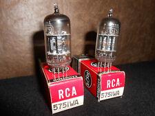 Pair RCA 5751WA (12AX7) NIB/NOS ~ tested