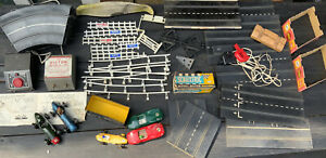 Vintage Scalextric Job Lot Track Pieces Spares/Repairs Untested