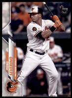 2020 Topps Series 2 Base Vintage #652 Pedro Severino /99 - Baltimore Orioles